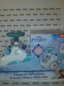 Kiddieland  Toys Frozen Magical Adventure Light & Sounds Ride On Push Toy NEw.