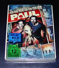 PAUL EIN ALIEN AUF DER FLUCHT REAL HEROES STEELBOOK EDICIÓN BLU-RAY