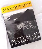 Max Dupain's Australian Landscapes ~FIRST Edition in Hardcover + DW FREE POST OZ