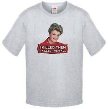 Murder She Wrote, Jessica Fletcher I killed them all. TV T Shirt Kids Size