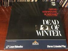 Laserdisc DEAD OF WINTER 1987 Mary Steenburgen Roddy McDowall Jan Rubes LD