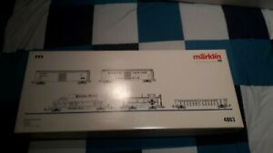 Märklin H0 4863 USA-Güterwagen-Set II, 5-teilig, in OVP