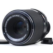 :Pentax Super-Multi-Coated Macro Takumar 100mm f4 Manual Focus M42 Lens [MINT]