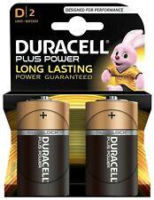 DURACELL PLUS POWER D 2 PACK BATTERIES