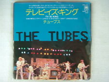 PROMO LABEL / THE TUBES TV IS KING / 7INCH