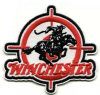 WINCHESTER Embroidered Patch Firearms Iron On Rifle Gun Hunting 30-30 Shot Gun