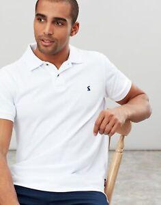 Joules Mens Woody Slim Fit Polo Shirt - White - Xxl