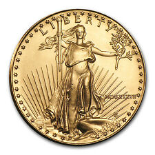 1987 MCMLXXXVII 1/2 oz Gold American Eagle Brilliant Uncirculated