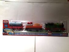 Percy & the Search Cars Train from the Thomas Motorized Trackmaster series