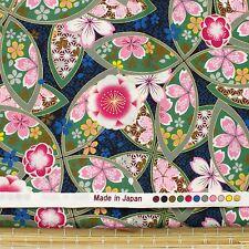 Made In Japan Sakura cotton fabric craft quilting cotton fat quarter FQ #F0038