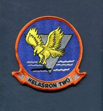 HS-2 GOLDEN FALCONS US Navy Helicopter Squadron Cruise Jacket Patch