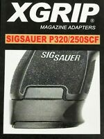X-Grip For Sig Sauer P320/250SCF Fits Full Size P320/250 MAG FAST SAME DAY SHIP