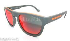 Authentic ARMANI EXCHANGE Folding Matte Grey Sunglasses AX 4012 - 80156Q *NEW*