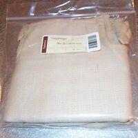 Longaberger Oatmeal MEDIUM BOARDWALK / TAKE ME AWAY Basket Liner ~ Brand New!