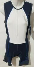 New listing Zoot Ultra Racesuit White Gray Ultra Triathalon Suit Men's Size Small