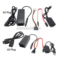 SATA/PATA/IDE to USB2.0 Converter Power Adapter Cable for 2.5/3.5Inch Hard Drive