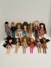 Bratz MGA Vintage 2001 2003 Dolls Boy Cothes Yasmin Cloe Jade  Sasha Lot Of 13
