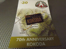 ANZAC,  Kokoda 70th Anniversary badge