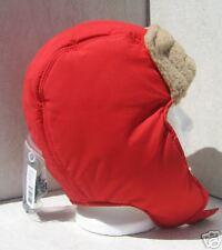 Bula Red/Camel Ipod/Mp3 Audio Ski Snowboard Bomber Hat