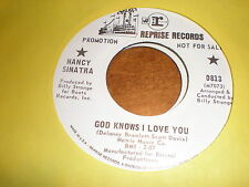 Nancy Sinatra 45 God Knows I Love You REPRISE PROMO