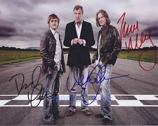 TOP GEAR X3 CLARKSON HAMMOND MAY SIGNED 10X8 PP PHOTO