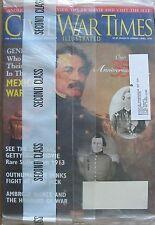 SUPERIOR SHIPPING  Civil War Times  April 1996 & American History April 1996 NEW