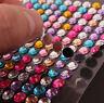HOT Self Adhesive Sticky on Crystals Rhinestone Gem Sticker Diamante Stick 3mm