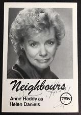 More details for anne haddy *helen daniels* vintage pre-signed vintage neighbours cast fan card
