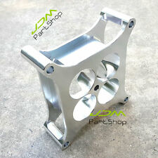 "PROFLOW BILLET 2"" silver SUPER SUCKER CARB SPACER HOLLEY 4150 ALLOY CNC MACHINED"