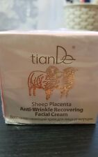 TianDe SHEEP PLACENTA ANTI-WRINKLE RECOVERING FACIAL  CREAM,50G