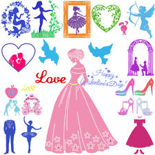 Valentine's Day DIY Cutting Dies Stencil Scrapbooking Album Paper Card Embossing