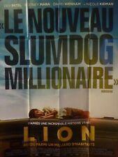 Affiche De Cinéma Originale 120 X 160  Lion
