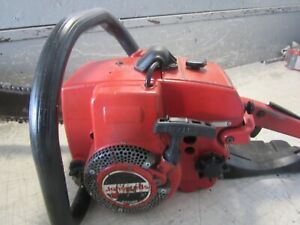 """VINTAGE JONSEREDS 49SP CHAINSAW WITH 16"""" BAR"""
