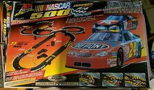 Nascar 500 Legends Racing Series  ho scale electric slot racing Complete 9540