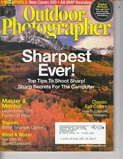 Outdoor Photographer October 2004  - Canon Camera  20D , Pro tips, etc / t3