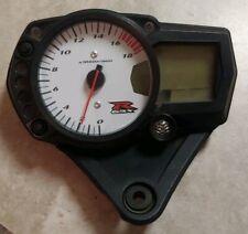 06 07 Suzuki GSX-R 600 750 Gauge Cluster speedo dash tach 12k  miles GSXR 2007