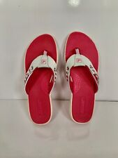 Sperry Top-Sider Seafish Thong Slip On Sandal  Size 8 M, Pink