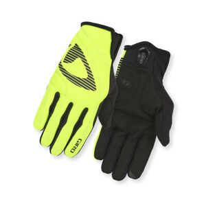 Giro Cycling Gloves Glove Wi Blaze Yellow Windproof Water Resistant Robust