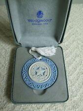 Wedgwood Seal of Texas Christmas Ornament Blue Jasper Limited Edition #2042/2500