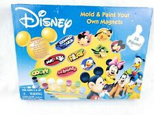 Disney Mold And Paint Your Own Magnets Set