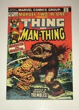 Marvel Two-In-One The Thing and Man-Thing #1 1973