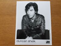 DUNCAN SHEIK 8x10 BLACK & WHITE Press Kit Publicity Photo 90's ALT ROCK SSW