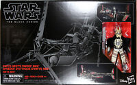 Star Wars Black Series ~ ENFYS NEST w/SWOOP BIKE Deluxe Action Figure Set