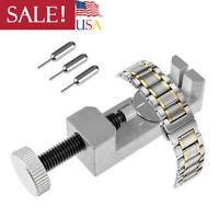 Adjustable Metal Watch Band Strap Bracelet Link Pin Remover Repair Tool Kit US
