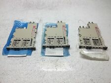 Lot Of 3 Adc Dsx 3 Port Cross Connect Module Dsx-4U-Mbrc - Good Condition