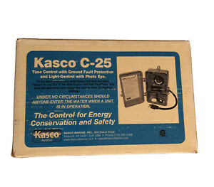 Kasco C-25 120V Time Control w/Ground Fault Protection, Light Control & Phot Eye