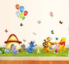 Winnie the Pooh and Tigger Wall Stickers Kids Baby Children Nursery Decal Decor