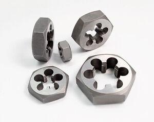 1x Hexagonal Shape Right Die M24 M25 M26 M27 M28 M30 M33 x 1.0 1.5 2.0 3.0 3.5mm