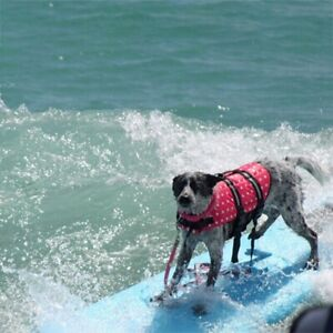Pets Dog Save Life Jacket Clothes for Surfing Saver Large Dogs Clothes Swimwear