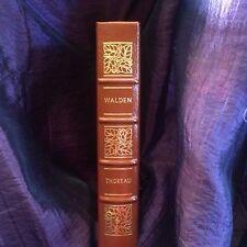Walden -  Henry David Thoreau - Easton Press